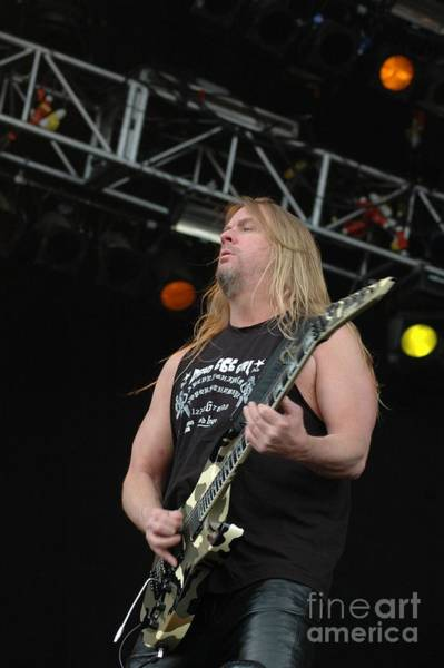 Jeff Hanneman Wall Art - Photograph - Jeff Hanneman From Slayer by Jenny Potter