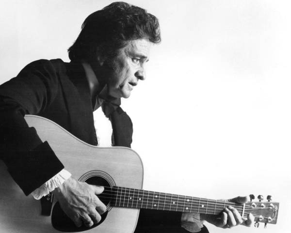 Country Music Hall Of Fame Wall Art - Photograph - Johnny Cash by Retro Images Archive