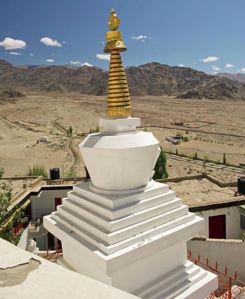 Himalaya Wall Art - Photograph - Ladakh, India Religious Structures by Jaina Mishra