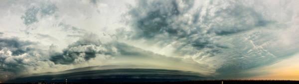 Photograph - Late August Nebraska Supercell by NebraskaSC