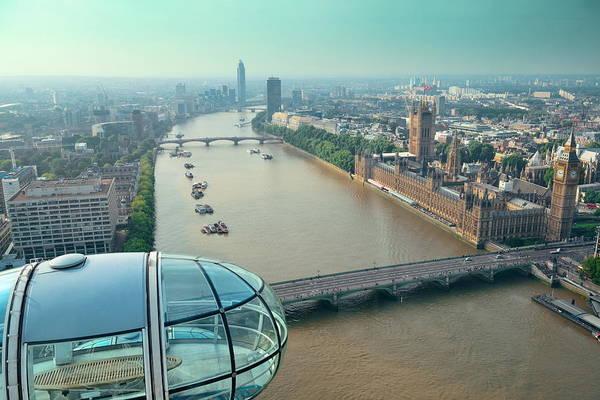 Photograph - London Eye by Songquan Deng