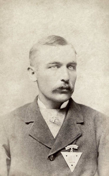 Photograph - Man, C1880 by Granger