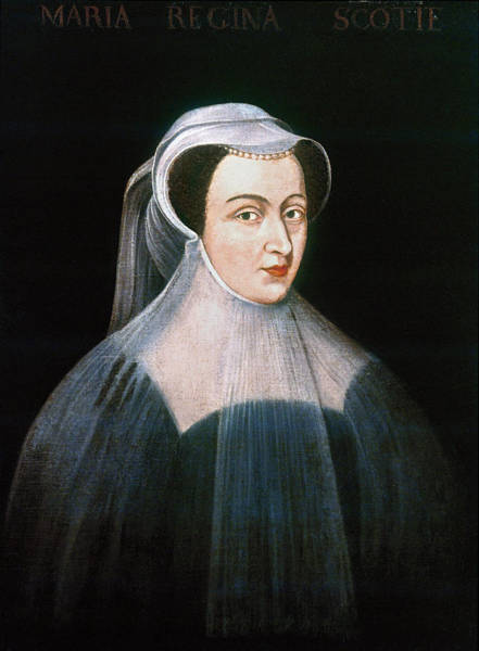 Painting - Mary, Queen Of Scots by Granger