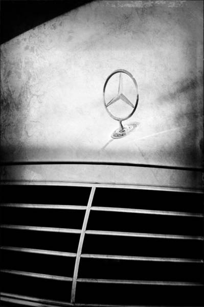 Photograph - Mercedes-benz Hood Ornament by Jill Reger
