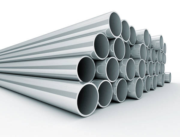 Wall Art - Photograph - Metal Tubes by Jesper Klausen / Science Photo Library