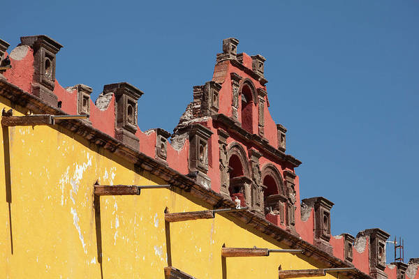 Plaza Photograph - North America, Mexico, San Miguel De by John and Lisa Merrill