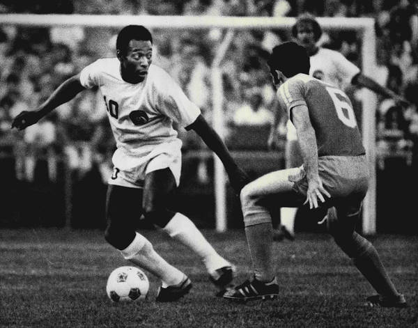 Fifa World Cup Wall Art - Photograph - Pele by Retro Images Archive