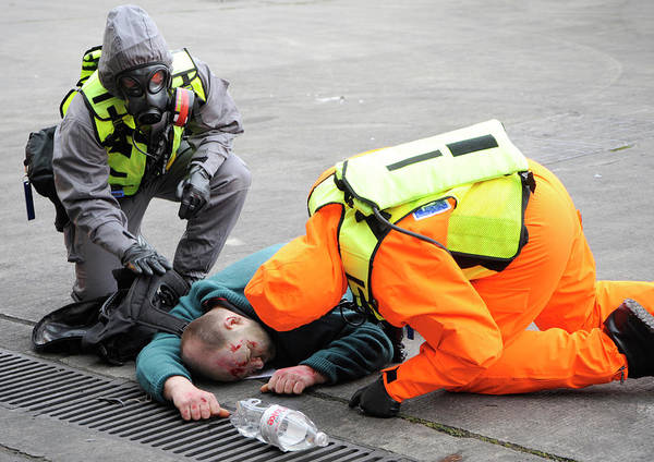 Nbc Photograph - Radiation Emergency Response Training by Public Health England