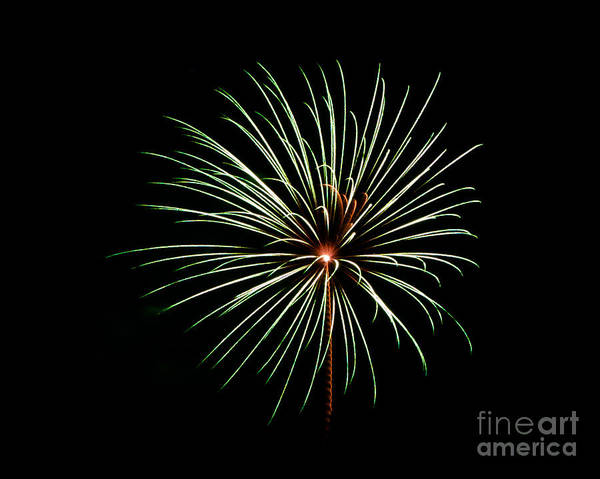 Photograph - Rvr Fireworks 2013 by Mark Dodd