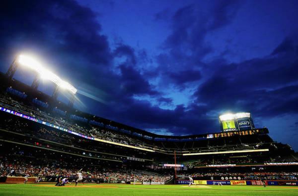 Photograph - San Francisco Giants V New York Mets by Al Bello