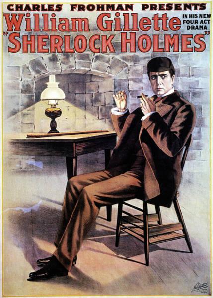 Arthurs Seat Painting - Sherlock Holmes by Granger