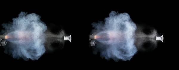 Stereogram Photograph - Shotgun Shot by Herra Kuulapaa � Precires