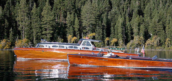 Outboard Engine Photograph - Tahoe Classics by Steven Lapkin