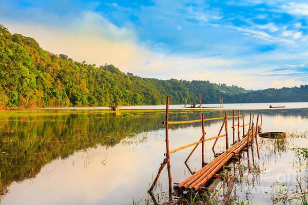 Wall Art - Photograph - Tamblingan Lake by MotHaiBaPhoto Prints