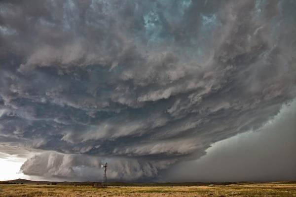 Wall Art - Photograph - Tornadic Supercell Thunderstorm by Roger Hill/science Photo Library