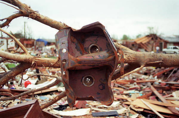 Wall Art - Photograph - Tornado Damage by Jim Reed/science Photo Library