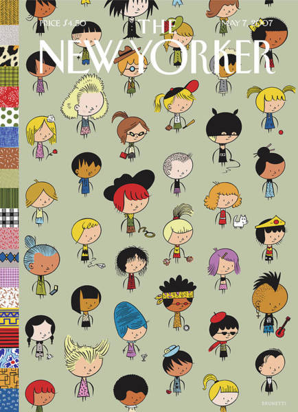 May 7th Painting - New Yorker May 7th, 2007 by Ivan Brunetti