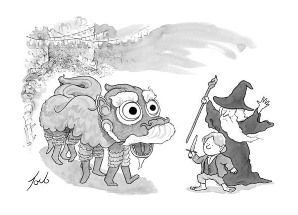 January 31st Drawing - New Yorker January 31st, 2014 by Tom Toro