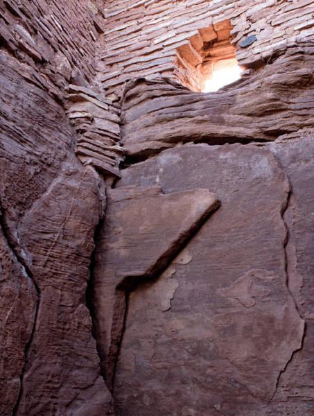 Wupatki Photograph - Usa, Arizona Native American Ruins by Luc Novovitch