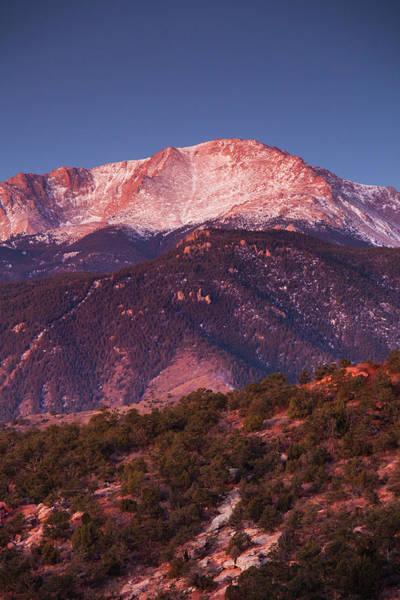 Walter Photograph - Usa, Colorado, Colorado Springs, Garden by Walter Bibikow