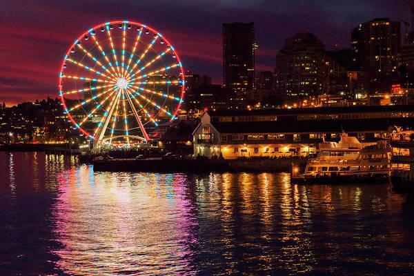 Elliott Photograph - Usa, Washington State, Seattle by John and Lisa Merrill