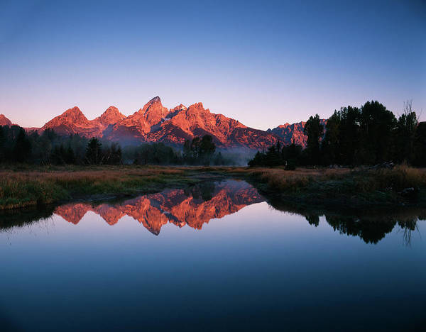 Beaver Pond Wall Art - Photograph - Usa, Wyoming, Grand Teton National by Adam Jones