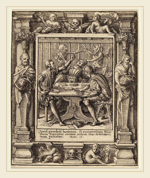 Wall Art - Drawing - Wenceslaus Hollar After Hans Holbein The Younger by Litz Collection