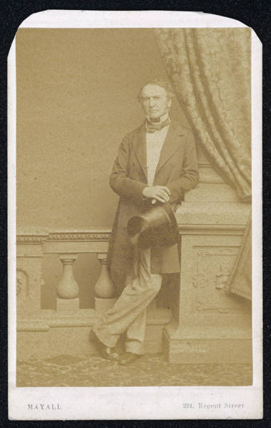 Wall Art - Photograph - William Ewart Gladstone  Liberal Mp by Mary Evans Picture Library
