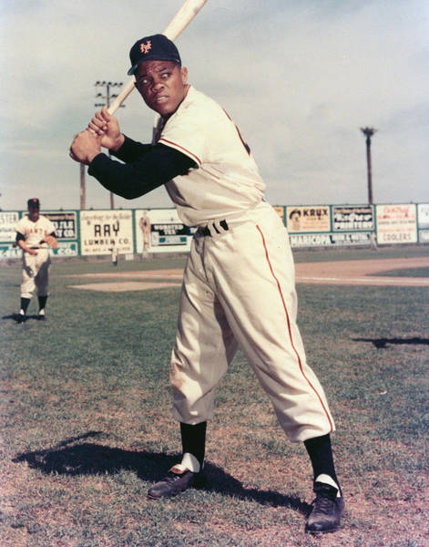 Baseball Hall Of Fame Photograph - Willie Mays by Retro Images Archive