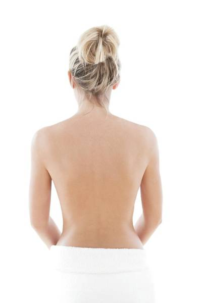 Fit Photograph - Woman's Back by Ian Hooton/science Photo Library