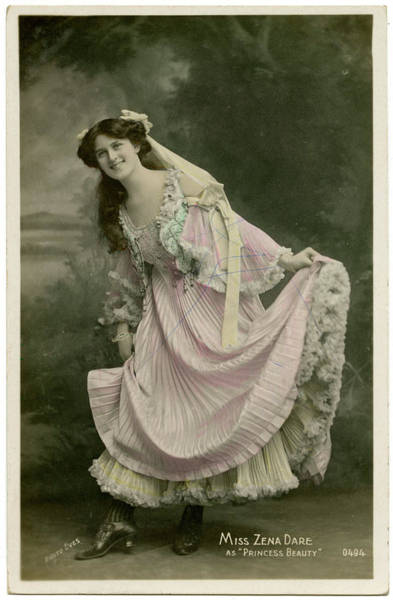 Wall Art - Photograph - Zena Dare (1887  1975), English Singer by Mary Evans Picture Library
