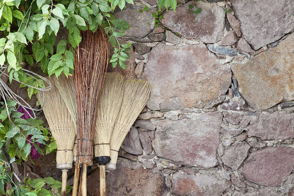 Broom Photograph - Mexico, San Miguel De Allende by Jaynes Gallery