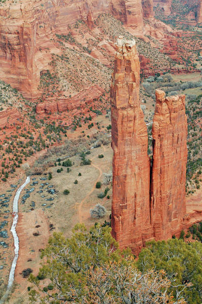 Spider Rock Photograph - North America National Parks by Ron Reznick