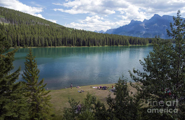 Photograph - 725p Two Jack Lake Canada by NightVisions