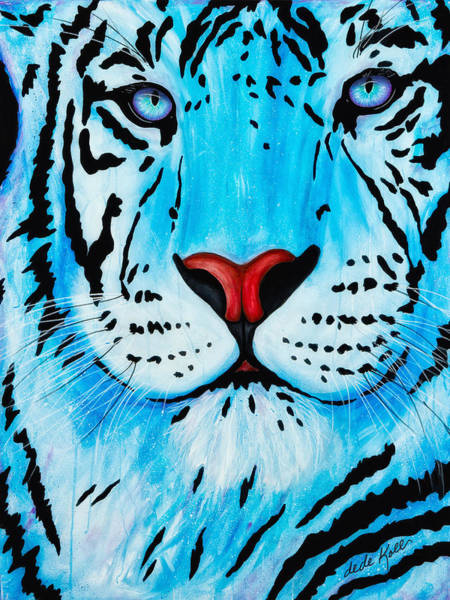 Blue Bengal Art Print