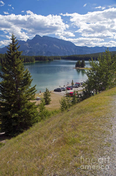 Photograph - 728p Two Jack Lake Canada by NightVisions