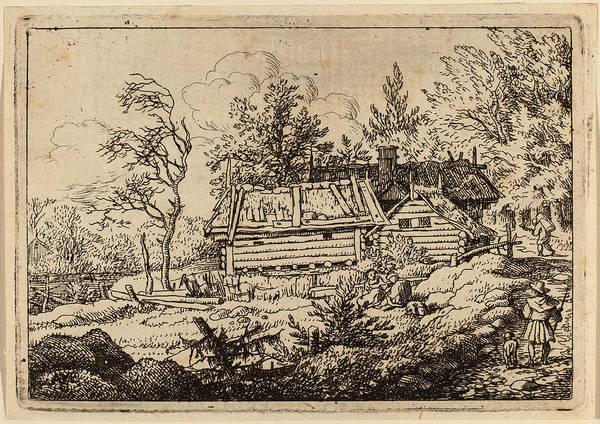 Wall Art - Drawing - Allart Van Everdingen Dutch, 1621 - 1675 by Quint Lox