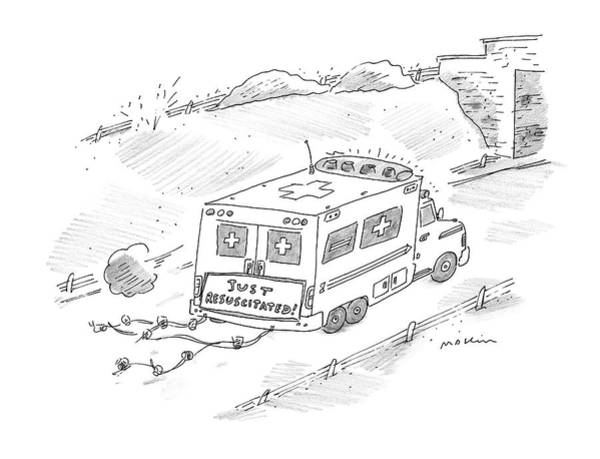 Medicine Drawing - New Yorker January 17th, 2000 by Michael Maslin