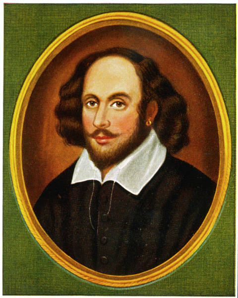 Wall Art - Drawing - William Shakespeare (1564 - 1616) by Mary Evans Picture Library