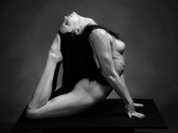 Photograph - 7498 Studio Nude Flexible Kajira by Chris Maher