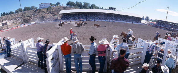 Kittitas County Wall Art - Photograph - 75th Ellensburg Rodeo, Labor Day by Panoramic Images