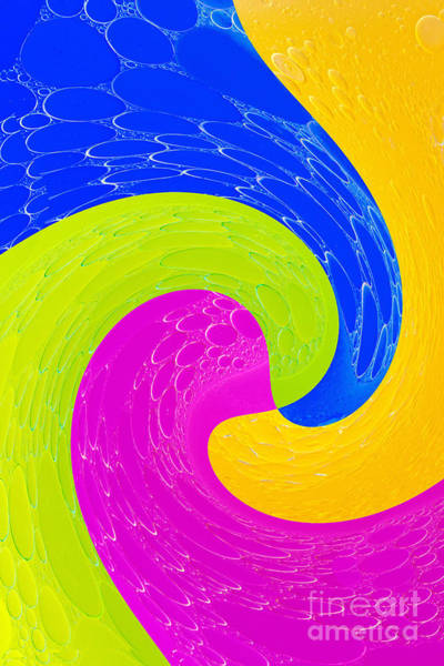 Little Planet Digital Art - Colorful Abstract Forms by Odon Czintos
