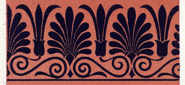 Wall Art - Drawing - Greek Ornament And Etruscan Ornament by Litz Collection