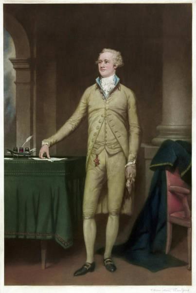 Wall Art - Painting - Alexander Hamilton (1755-1804) by Granger