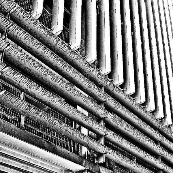 Pattern Photograph - Car Park 2 by Jason Michael Roust