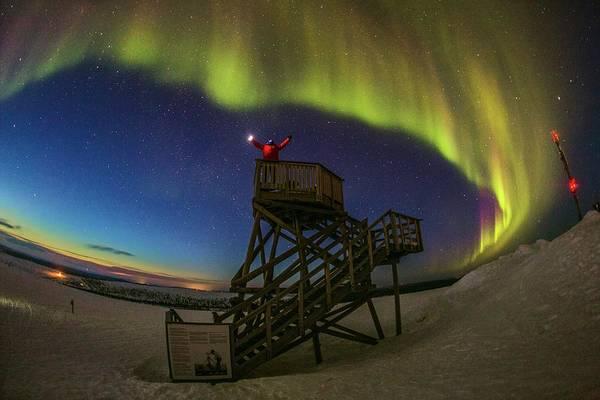 Wall Art - Photograph - Aurora Borealis by Juan Carlos Casado (starryearth.com) / Science Photo Library