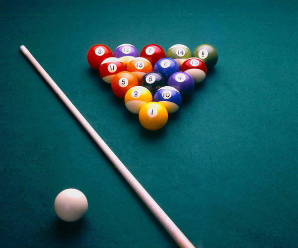 Photograph - 8 Ball by Gary De Capua