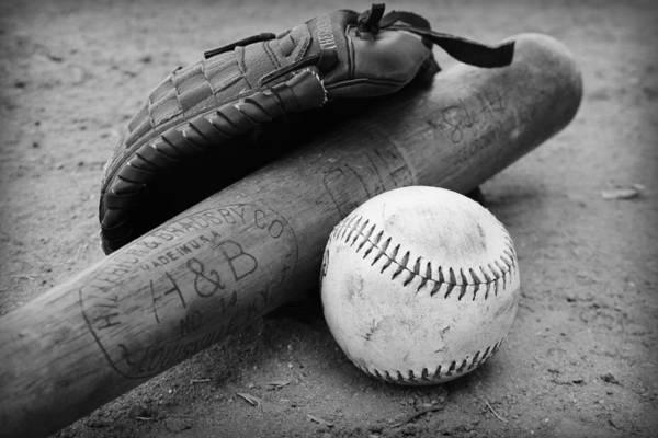 Photograph - Baseball by Kelly Hazel