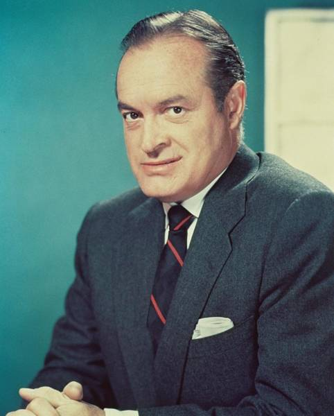 Comedy Photograph - Bob Hope by Silver Screen