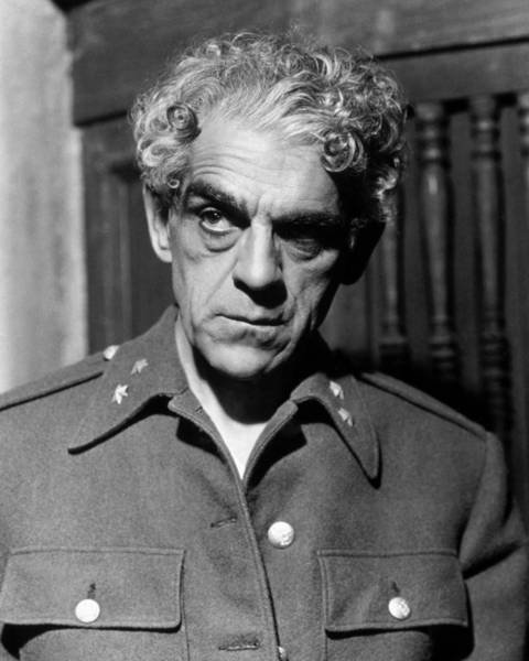 Boris Karloff Photograph - Boris Karloff by Silver Screen